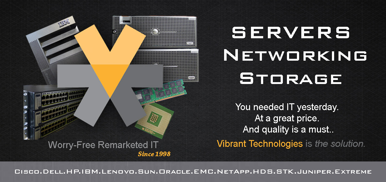 We Buy New and Used Servers, Networking and Storage Hardware