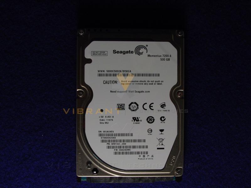Seagate 9HV144 300 500GB 25 7200rpm Momentus Drive MC2