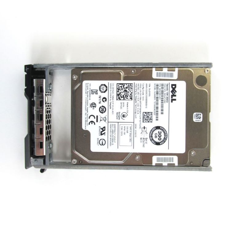 "Dell 81N2C 300Gb 15K RPM 6Gbps 2.5"" SED Hard Drive"