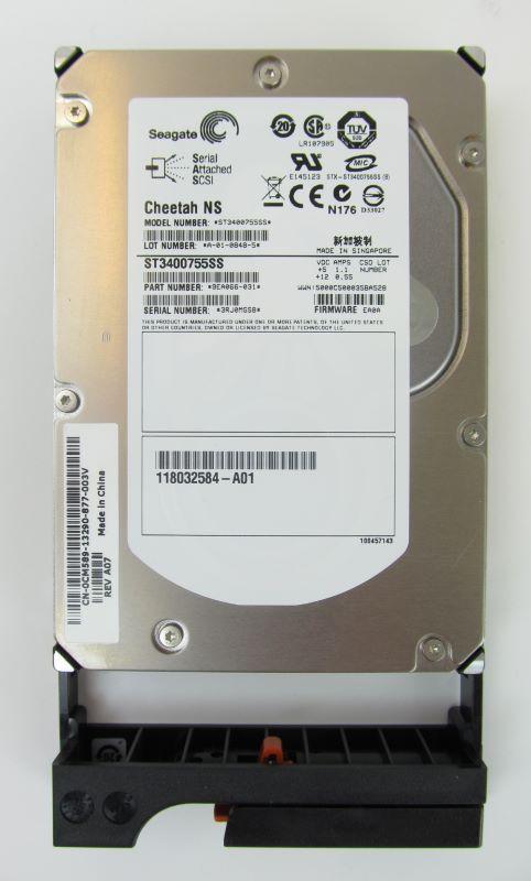 EMC 005048811 AX4 NX4 400GB SAS 10K Drive