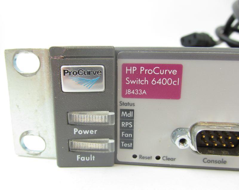HP J8433A ProCurve 6400CL-6XG Switch 6 Port 10GBE CX4