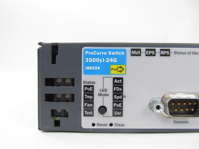 HP J8692A ProCurve 3500yl-24G Switch