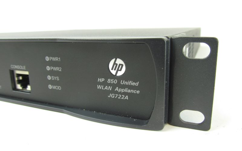 HP JG722A 850 Unified Wired-WLAN Appliance with Dual PSU