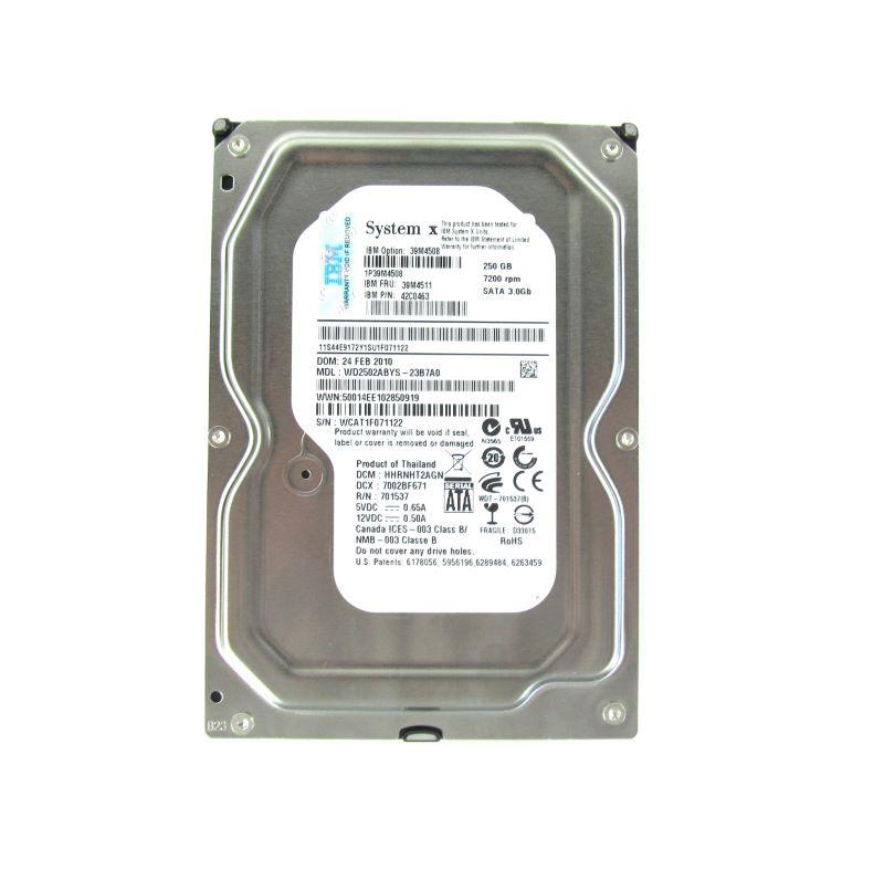 39M4508 250GB Simple-Swap SATA II by IBM