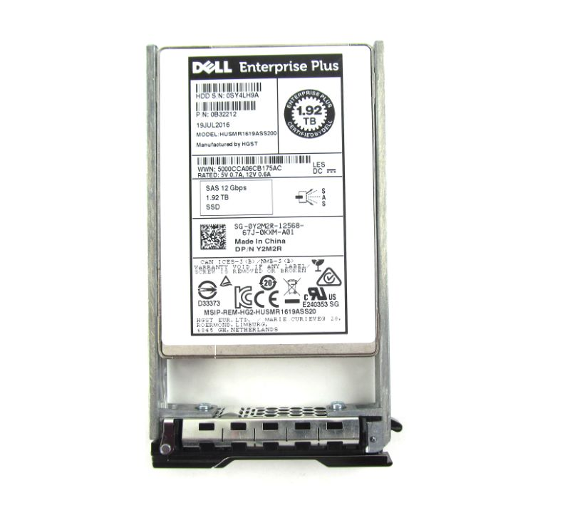 Compellent HUSMR1619ASS200 1.92TB SAS SSD 12GBPS
