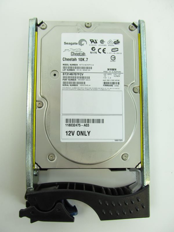 EMC 005048531 146GB 2GBPS 10k Fiber Channel Hard Disk Drive