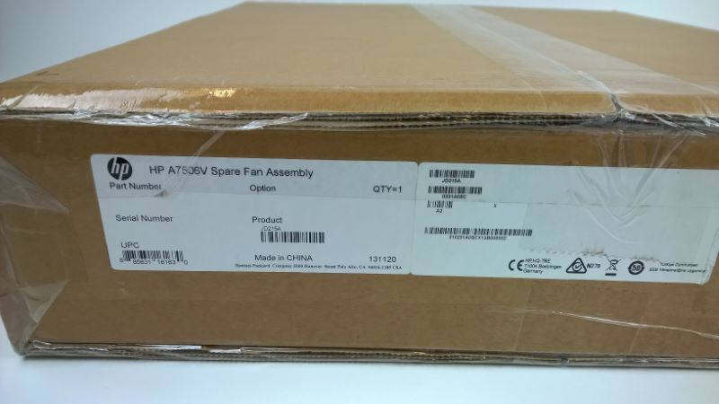 HP 0231A81D 7506-V Spare Fan Assembly New Factory Sealed In Stock