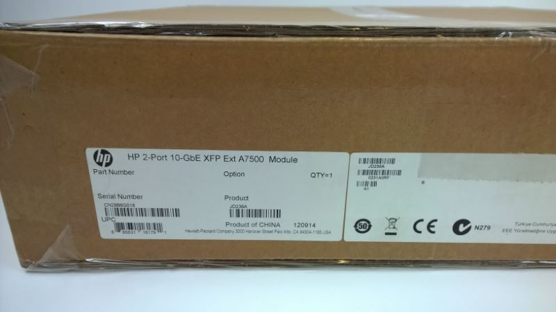 HP 0231A978 7500 2-port 10GBE XFP extended module New factory sealed in stock