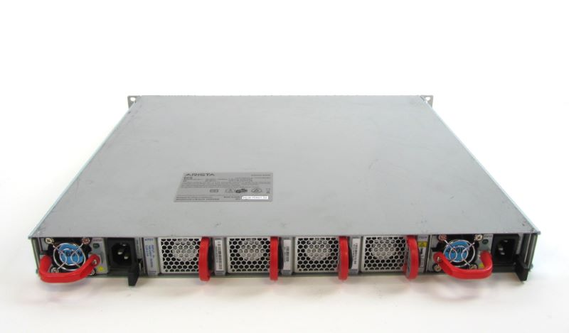 Arista DCS-7050T-52-F 48x 10GBe 4x QSFP+ 2x 460W AC Power Supplies - DCS-7050T-52